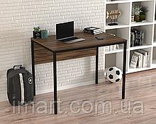 Письменный стол Loft design L-2p mini Орех Модена. Комп'ютерний стіл для дому та офісу