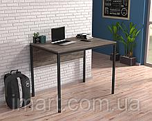 Письменный стол Loft design L-2p mini Дуб Палена. Комп'ютерний стіл для дому та офісу