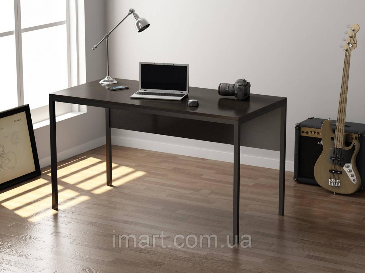 Письменный стол Loft design L-2p Венге Корсика. Комп'ютерний стіл для дому та офісу  - купить со скидкой