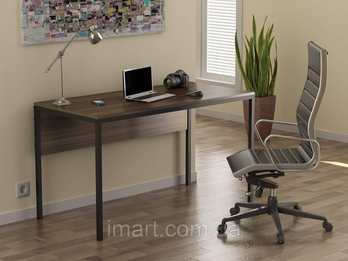Купить Письменный стол Loft design L-2p Орех Модена. Комп'ютерний стіл для дому та офісу