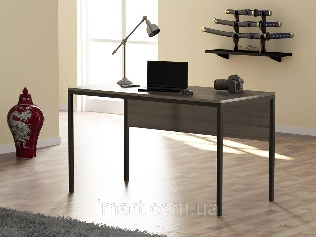 Купить Письменный стол Loft design L-2p Дуб Палена. Комп'ютерний стіл для дому та офісу