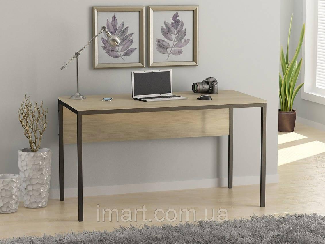 Купить Письменный стол Loft design L-2p Дуб Борас. Комп'ютерний стіл для дому та офісу