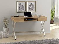 Письменный стол Loft design L-15 Дуб Борас. Комп'ютерний стіл для дому та офісу