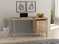 Письменный стол Loft design L-45 Дуб Борас. Комп'ютерний стіл для дому та офісу