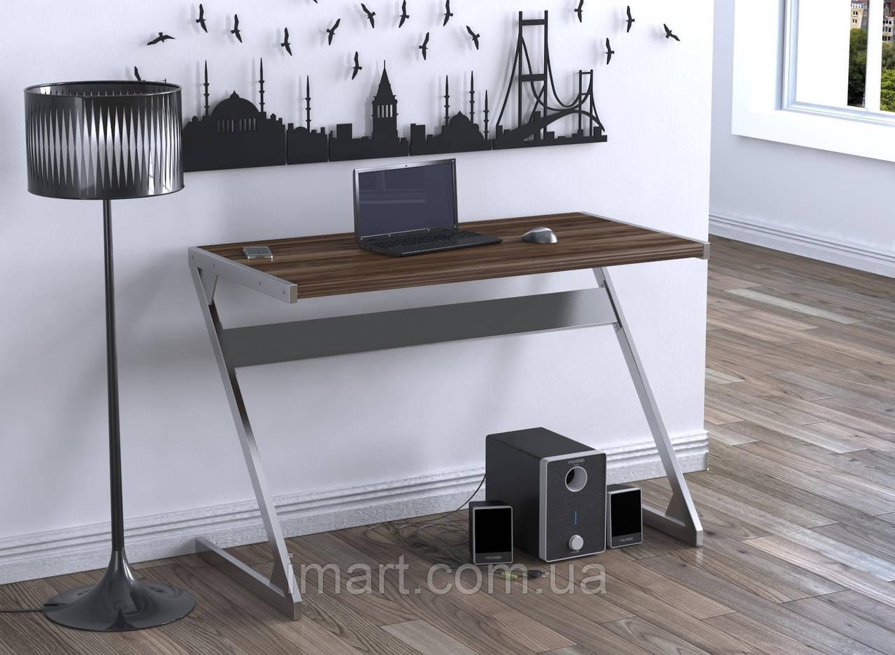 Письменный стол Loft design Z-110 Орех Модена. Комп'ютерний стіл для дому та офісу