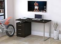 Письменный стол Loft design L-27 MAX Венге Корсика. Комп'ютерний стіл для дому та офісу