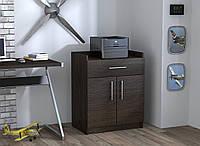 Тумба для принтера Loft design L-640 Венге Корсика. Тумбочка для дома и офиса