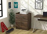 Тумба для принтера Loft design L-640 Орех Модена. Тумбочка для дома и офиса
