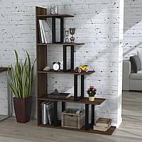Стеллаж-перегородка Loft Design L-160 Орех Модена для дома и офиса