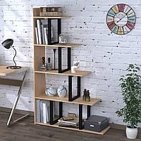 Стеллаж-перегородка Loft Design L-160 Дуб Борас для дома и офиса