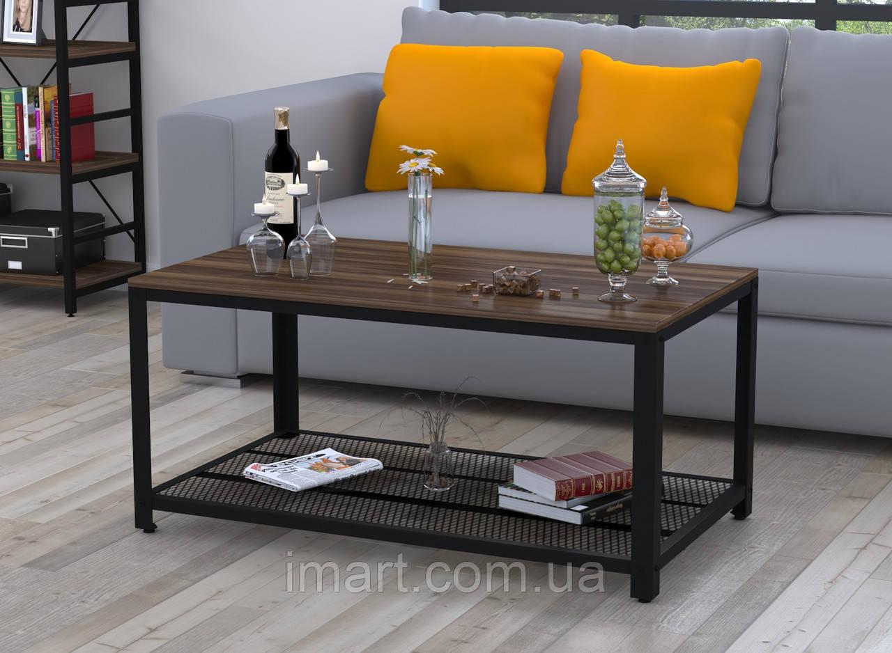 Журнальный столик V-105 Loft Design Орех Модена для дома и офиса. Журнальний стіл