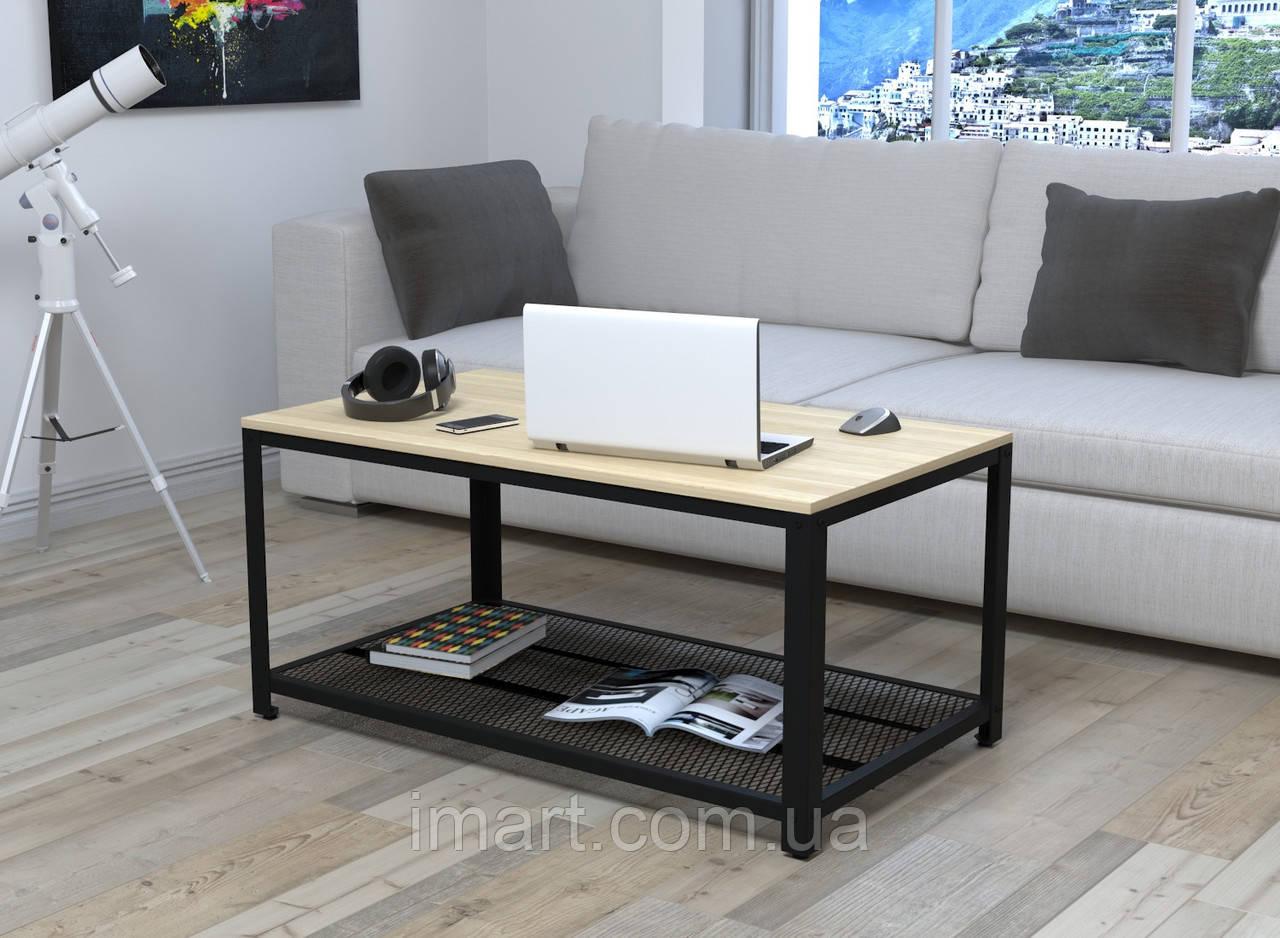 Журнальный столик V-105 Loft Design Дуб Борас для дома и офиса. Журнальний стіл