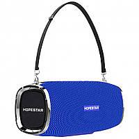Портативная Bluetooth колонка HOPESTAR A6 (Синяя) D1001