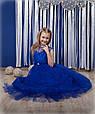 Красивое бальное платье Арина электрик (32), фото 4