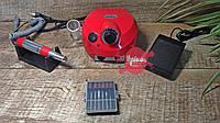 Красный фрезер для маникюра DM-202, 30 000 об/мин, 30 Вт