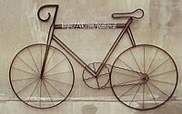 Велосипед-панно, велосипед вывеска