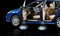 LED логотип 4-ое поколение в двери автомобиля, фото 1