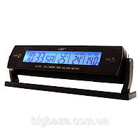 Часы VST-7013v с 2-мя датчиками температуры и вольтметром, фото 1