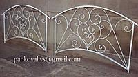 Мостик кованый разборной, садовый мостик