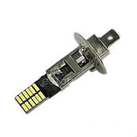 LED лампа H1, 24-SMD 4014, 12В, драйвер