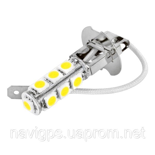 LED лампа H3, 13-SMD 5050, 12В