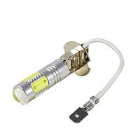 LED лампа H3, 7,5Вт, COB 5x1.5Вт, 12В