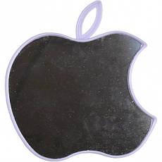Дзеркало на пластиковій підставці «Яблуко» , 15×13 см, фото 3