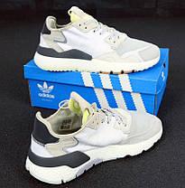 Мужские кроссовки Adidas Nite Jogger Grey Pack CG5950, Адидас Найт Джогер, фото 2