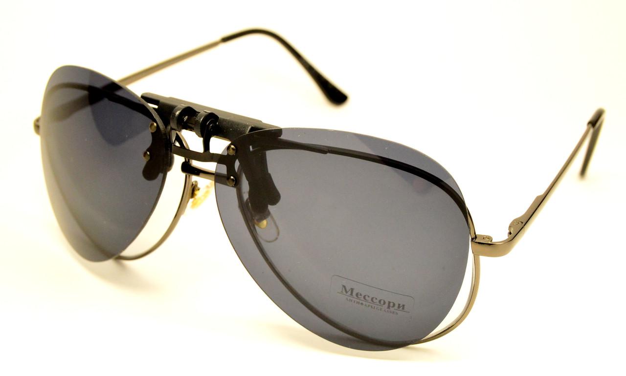 Солнцезащитная насадка на очки
