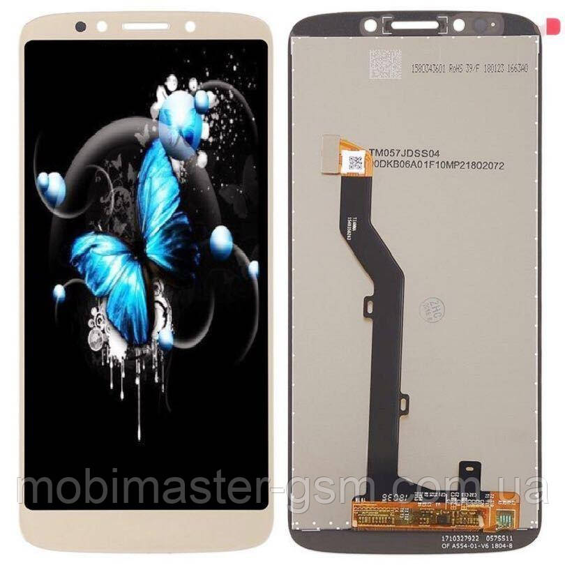 Дисплейный модуль Motorola XT1922 Moto G6 Play silver