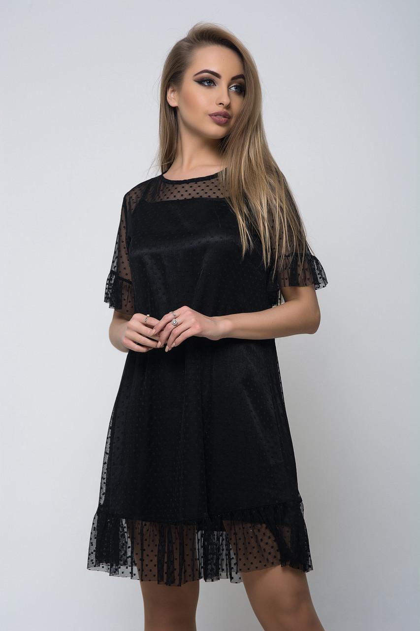 Платье K&ML 506 черный 42 - 44