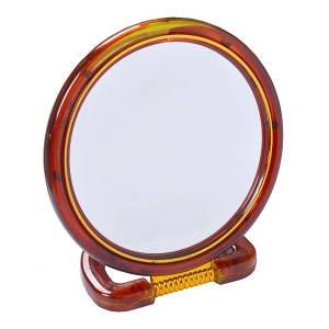 Зеркало 2 х стороннее с увеличением большое D18 см, фото 2