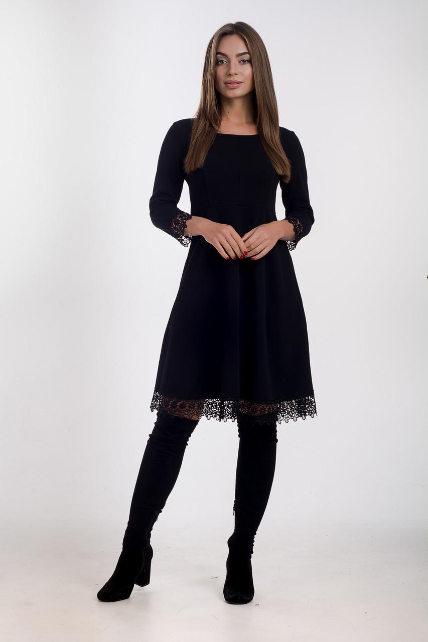 Платье K&ML 505 черный 44