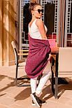 Трикотажний кардиган - конверт з люрексом 42-60р, фото 2