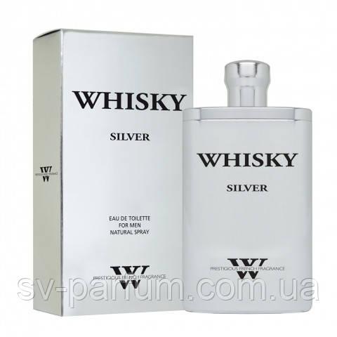 Туалетная вода мужская Whisky Silver Premium 90ml