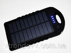 Внешний аккумулятор Power Bank Solar павербанк 50000 mAh прорезиненный