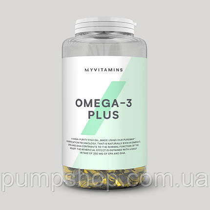Омега-3 MyProtein Omega-3 Plus 90 капс., фото 2