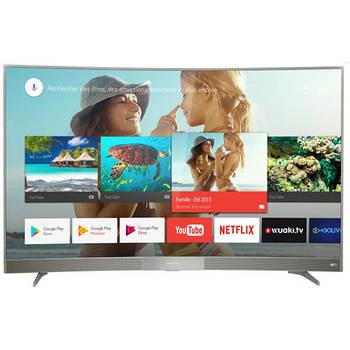 Телевизор Thomson 49UD6596 (Изогнутый, РРI 1500Гц, 4K, Smart, Android,Dolby Digital Plus2х10Вт,DVB-T2/S2)