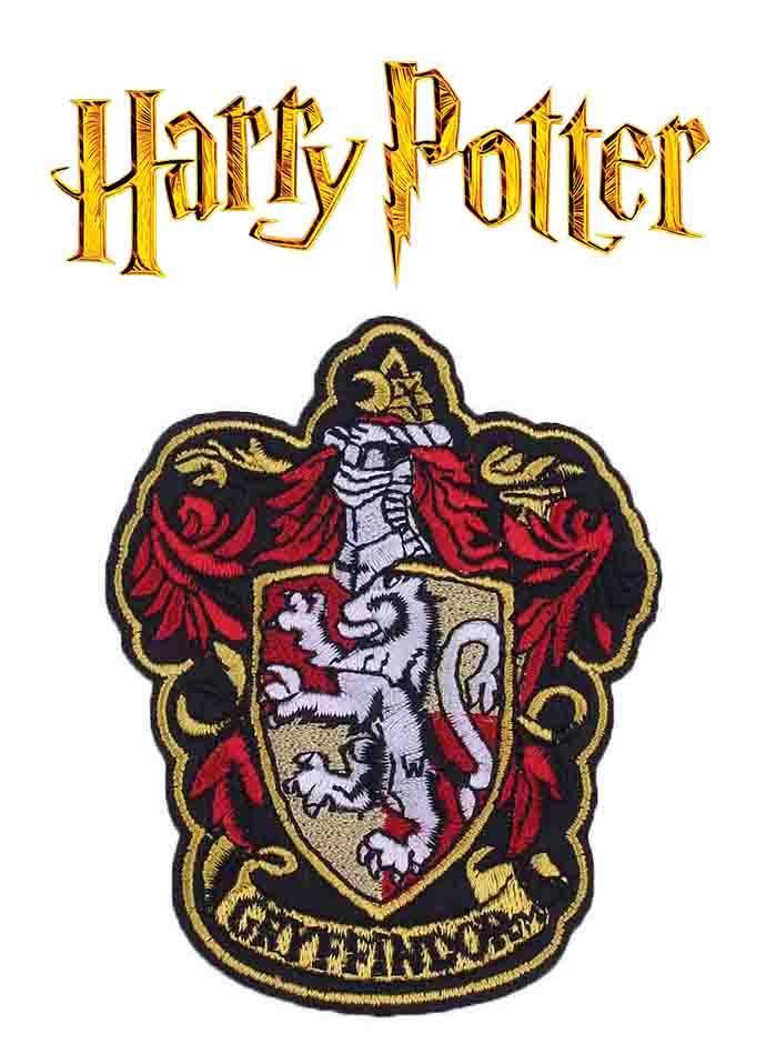 Нашивка на одежду Гриффиндор Гарри Поттер