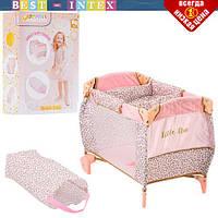 Кровать для кукол Hauck D-90186 (манеж)