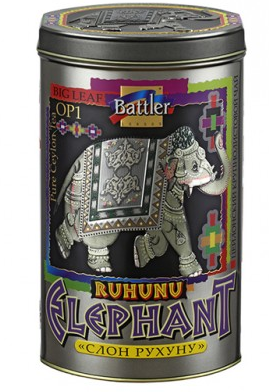 Чай черный Battler Слон Рухуну 100 гр. Ж/Б