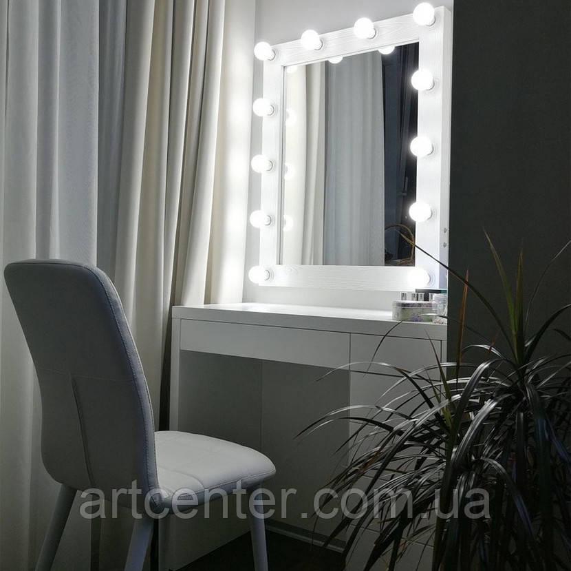 Комплект столик с ящиками+зеркало с подсветкой