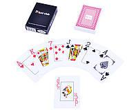 Карты игральные пластиковые Poker Club (Красная Рубашка)