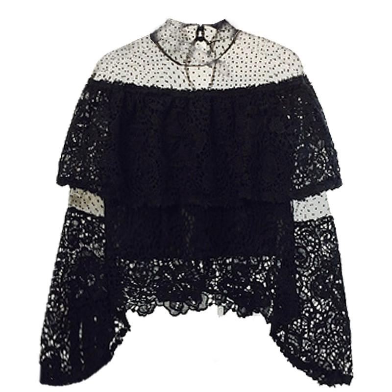 Жіночий мереживна блузка