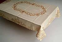 Скатерть на кухонный стол нежный 170*130