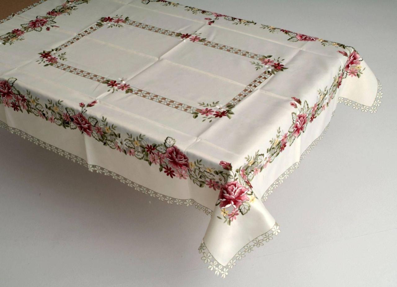 Скатерть на кухонный стол нежность весны 170*130 RMN