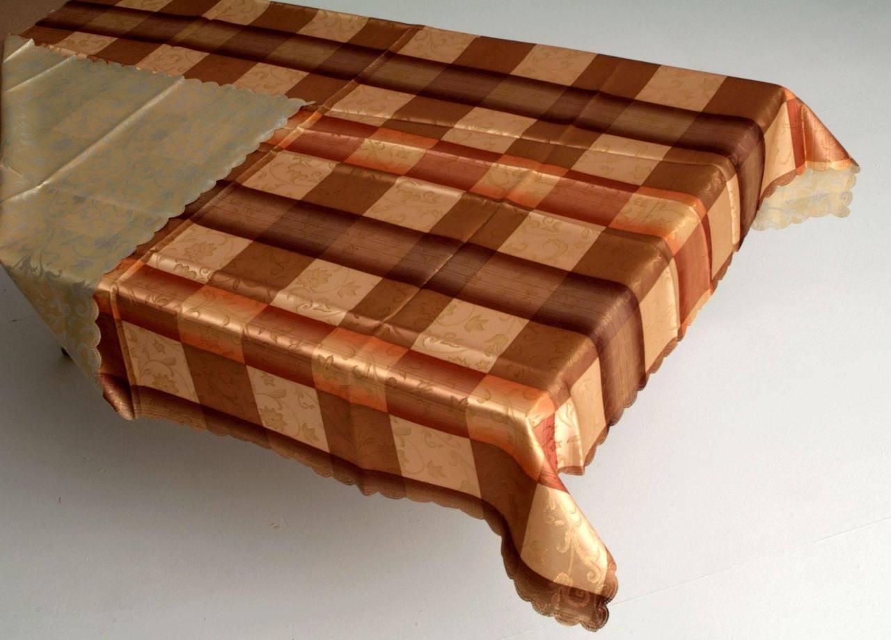 Скатерть двухсторонняя  квадратная 160 X 160 фирмы Elegant Lux