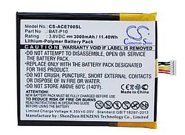 Аккумулятор Acer BAT-P10, BAT-P10, (1ICP5/61/73), PGF506173HT