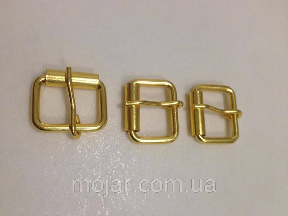 Пряжка сумочна золото 3х20х15