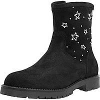 Зимові черевики для дівчинки Garvalin 171483 чорні 31-37, фото 1